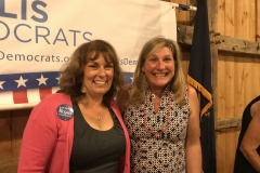 With Michelle St. John at the Hollis Dems dinner