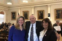 Rep. St. John (Hollis) and Rep. Petrigno (Milford) and me 2019