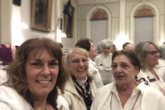 House women honor suffragettes who went before